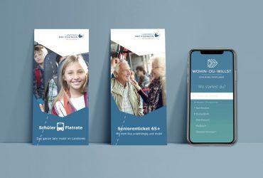 Neue Namen, optimiertes Marketing: Schüler Bus Flatrate, Seniorenticket 65+ und Wohin·Du·Willst-App