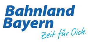 Landkreis Bad Kissingen - Logo: Bahnland Bayern