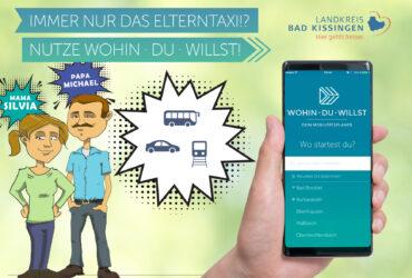 """Neu: Vierteilige Tutorialreihe zur ÖPNV- und Mobilitäts-App """"Wohin·Du·Willst"""""""