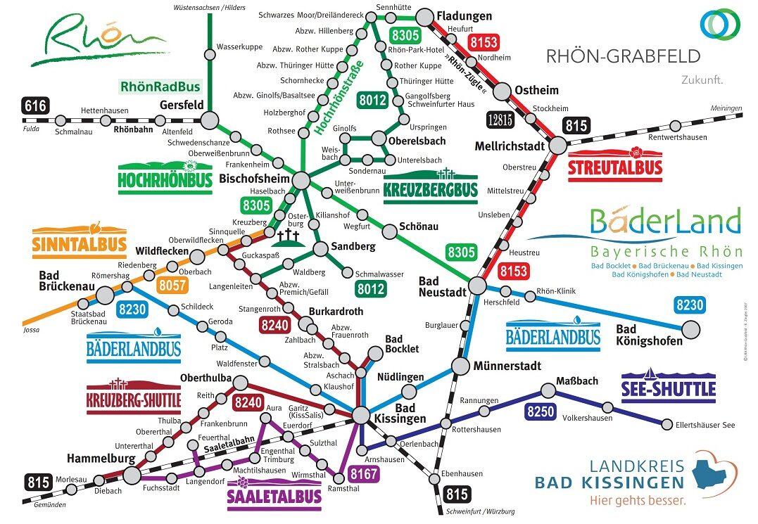 Landkreis Bad Kissingen - Content: Freizeitbusnetz 2021